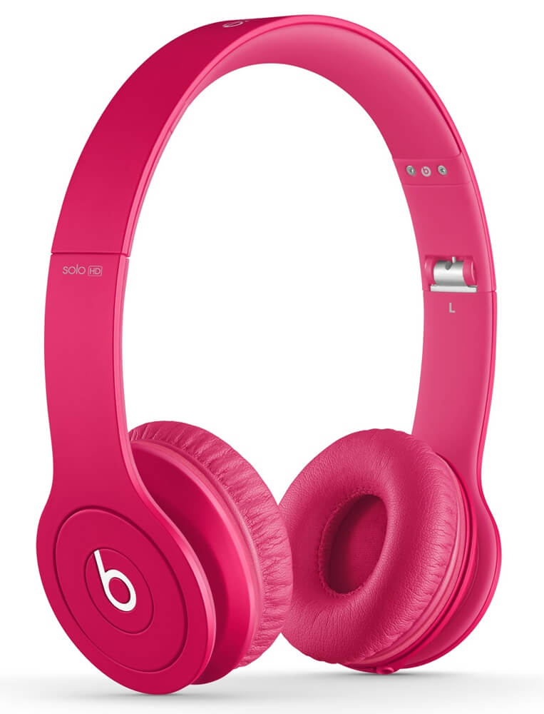 Купить наушники Monster Beats Solo HD Matte Pink в Перми