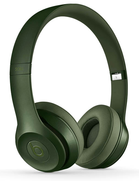 Купить наушники Monster Beats Solo v2 Wireless Hunter green в Перми
