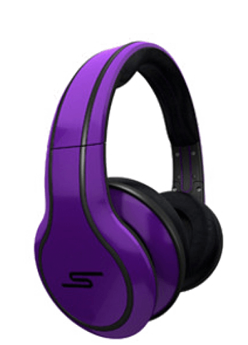 Купить наушники SMS Audio Street by 50 Cent HeadPhones Purple в Перми