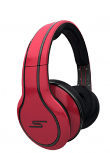 Купить наушники SMS Audio Street by 50 Cent HeadPhones Red в Перми