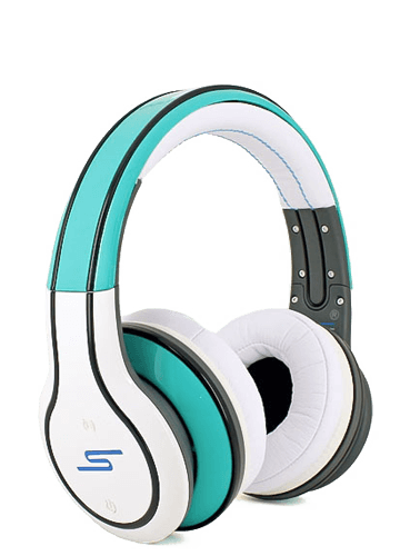 Купить наушники SMS Audio Sync by 50 Cent Wireless White-Green в Перми